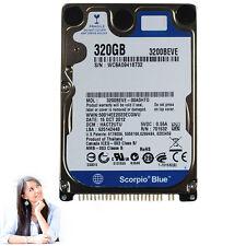 Neu 320GB HDD 2.5 zoll Festplatte Notebooks Hard Drive 5400RPM IDE PATA 8MB