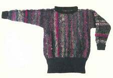 Dovetail Designs K2.3   Multi-Color Sweater to Knit Pattern   Knitting