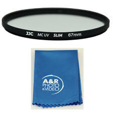 JJC 67mm Multi coated Slim UV Filter For 18-135mm Nikon P900 P-900 P 900
