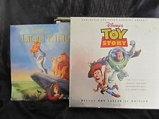 14 laser disc lot TOY STORY DELUXE BOX SET/ LION KING, plus LIZA,BARBRA,PIPPIN