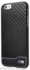 "BMW BACKCOVER ClipOnCASE HANDYTASCHE für iPhone 6 Plus 5,5"" Black Carbon Optik"