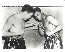 HENRY ARMSTRONG vs LOU AMBERS 8X10 PHOTO BOXING PICTURE