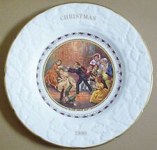 Coalport Collectors Plate CHRISTMAS 1980 - BLIND MAN'S BUFF