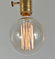 2x HG  Vintage G80A style 40W Carbon Edison Squirrel Cage Filament Light bulb