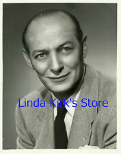 "Ted Husing Sports Reporter Promo Photograph ""St Nick's Boxing"" CBS-TV 1950"