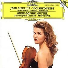 "ANNE SOPHIE MUTTER ""VIOLINKONZERT D-MOLL..."" CD NEUWARE"