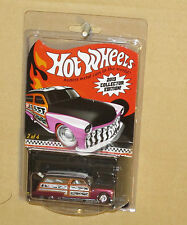 HOT WHEELS 2013 COLLECTOR EDITION PURPLE PASSION WOODY MERC  REAL RIDERS