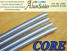 AlumSolder CORE - LOW TEMP ALUMINIUM ALLOYS STAINLESS STEEL WELDING RODS & FLUX