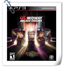 30 IN 1  PS3 Midway Arcade Origins Sony PlayStation Warner Home Video Misc