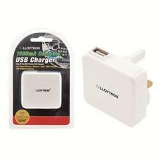 Lloytron A1581 USB Mains Charger Universal Voltage 1000mA Output iPhone iPod New