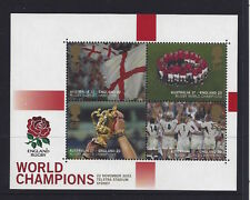 Great Britain 2003 Rugby World Cup  MS Stamp Set