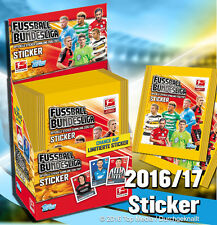 Topps Bundesliga Sticker 2016/2017 100 gemischte Sticker 16/17 d