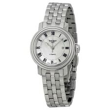 Tissot Ladies Bridgeport White MOP Automatic Swiss Made Watch T097.007.11.113.00