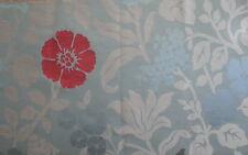 OSBORNE & LITTLE Nina Campbell Rosario Floral India Celedon Rust New Remnant