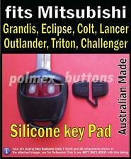 fits Mitsubishi Pajero Lancer Galant Grandis remote key- replacement key Buttons