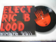 "Electric Blood - Single 2011 7"" EP new Spacecase Records"