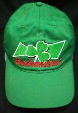 Budweiser Kelly Green St Patricks Day Shamrock Green Beer 1999 Official Cap