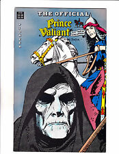 "Official Prince Valiant No14 1989-Strip Reprints Soft Cover-""Hooded Man Cover! """