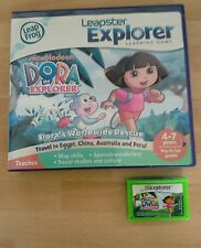 Dora the Explorer- Leappad 1 2 3 Ultra- Platinum- Xdi- Leapster GS - game