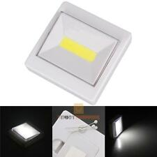 Portable Pocket LED Night Light COB Flashlight Magnetic Working Torch Lamp AAA