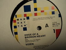 "Vixen ""Edge Of A Broken Heart"" Great MANHATTAN Oz 7"""
