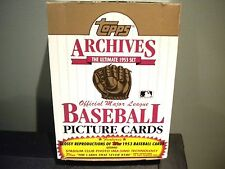 1991 Topps Archives 1953 36 Pack Box Mantle, Mays, Aaron?!!!!