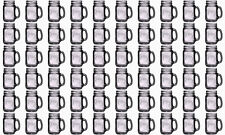 Lot of 60 Bridal Wedding County Fair Mason Jars with Handles 5 Cases Wholesale