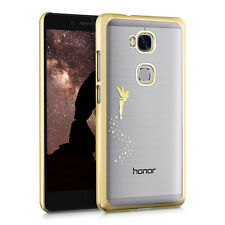 kwmobile Schutz Hülle für Huawei Honor 5X GR5 Fee Gold Crystal Case Cover Handy
