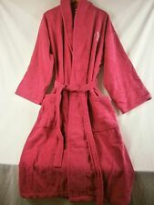 The Company Store Company Cotton Robe Raspberry Small/Medium 8043S RJ56