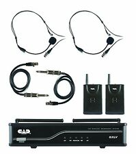 CAD Audio - GXLVBB-J - VHF Wireless Dual Bodypack Microphone System