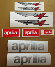 Aprilia RSV4 Kit decals stickers for Race, Track Bike, Toolbox, Garage, Van #107