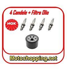 Filtro olio e Candele NGK CR9EH9 per tagliando motore Honda VFR 800 dal 98