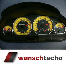 speedometer speedometer dial for BMW E46 Petrol Yellow 310 Kmh. M3