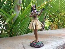 New Hawaiian  Dashboard Hula Doll Dancer Girl Posing  7""