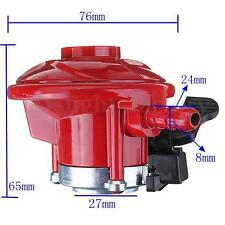 37mbar Gas Propane Regulator 27mm Fitting For Calor Bottles Patio Heater BBQ Red