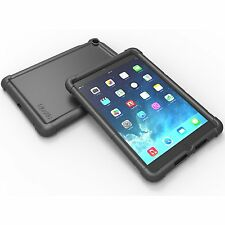 TurtleSkin Bumper Protective Shockproof Case Cover for Apple iPad Air 2 Black