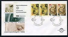 NEDERLAND E252a FDC 1988 - Boekje Zomerzegels
