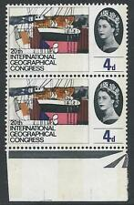 1964 Geographical 4d (Phos) - Listed Flaw - Scarred Neck - MNH