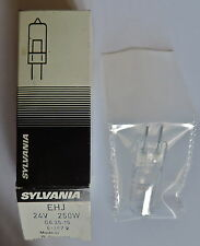 Lampe projecteur de CINEMA : Sylvania 24V 250W / G-6,35-15