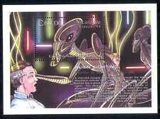 Nicaragua 1994 Aliens Sightings/Space/Sci-fi m/s n27393
