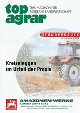 Amazone toupie herses spécial pression top agricole 6/00 2000 machines agricoles Allemagne