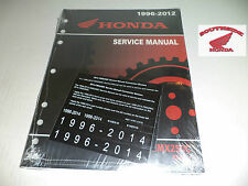 GENUINE HONDA SERVICE SHOP MANUAL REBEL 250 CMX250 1996-2016