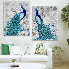 5D Pfau Diamant Strass Pasted Sticken Painting Stickpackungen Home Decor