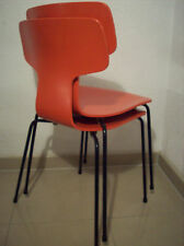 Stuhl 3103 Arne Jacobsen for Fritz Hansen 1955 stacking chair Stapelstuhl RAR