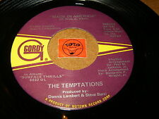 THE TEMPTATIONS - MADE IN AMERICA - SURFACE THRILLS / LISTEN - DISCO FUNK MOTOWN