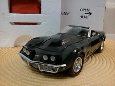 DANBURY MINT 1969 CHEVY CORVETTE..1:24..NIB..UNDISPLAYED....PERFECT PAINT..NEW