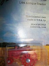 Scale Models 1/ 64 Antique Collector Tractor red made in usa