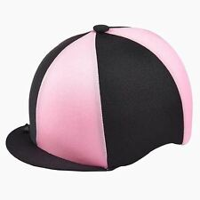 Lycra Riding Skull Cap Covers  XC Hat Silk Top Quality  Lycra One Size Ass Cols