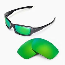 New WL Polarized Emerald Replacement Lenses For Oakley Fives Squared Sunglasses