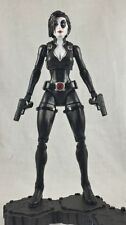 "Custom 3.75"" Marvel DOMINO figure - poseable & MADE TO ORDER"